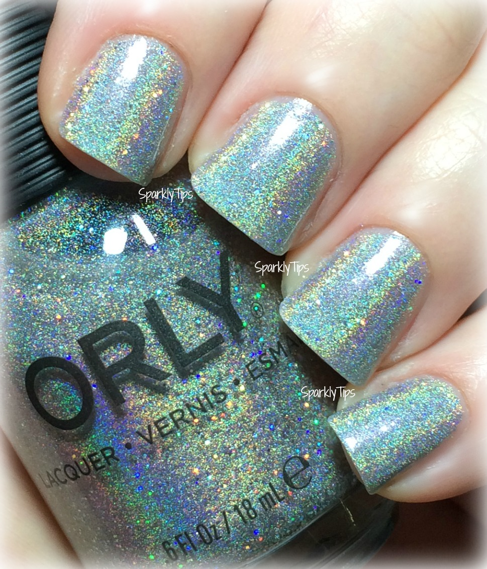 Orly | Mirrorball | Sparkly Tips